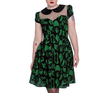 Skull & Bone Anatomy Theme dress